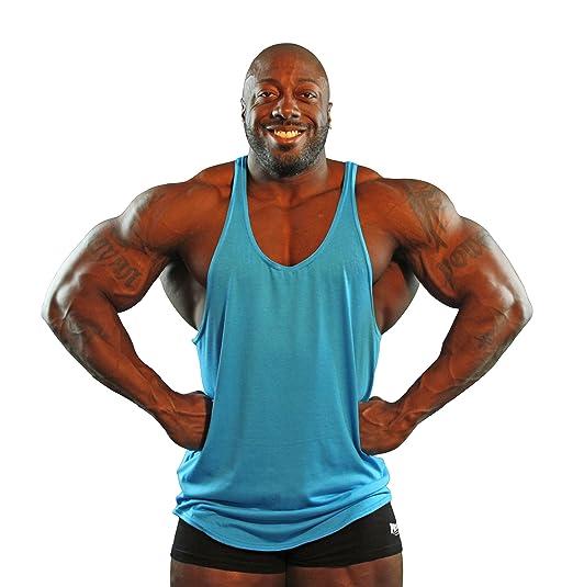 e235157dc56319 Amazon.com  Physique Bodyware Men s NoLogo Y Back Stringer Tank Top. Made  in America  Clothing