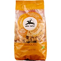 Alce Nero Organic Semi-Whole Wheat Fusilloni Pasta | Authentic Italian Pasta Taste & Texture | Made with Organic Italian…
