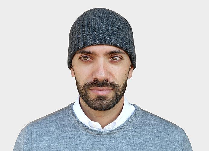 meet d4fdb 4505d berretto cashmere uomo, cappello cachemire, cappello uomo ...