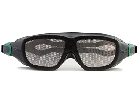 06d6cc013c4 Safe Eyes Stainless Steel Mesh No-Fog Safety Goggles - - Amazon.com