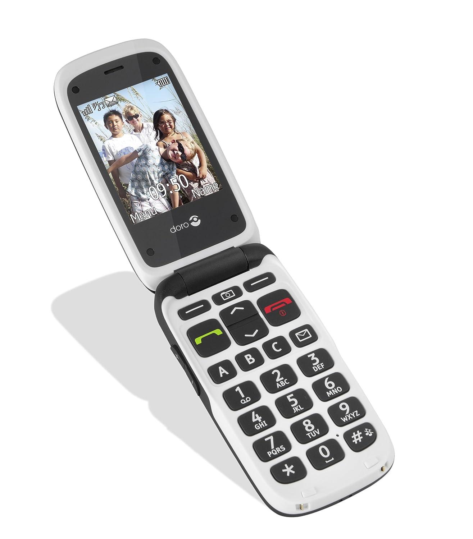 doro 612 phone easy big buttons phone black s r unlocked. Black Bedroom Furniture Sets. Home Design Ideas