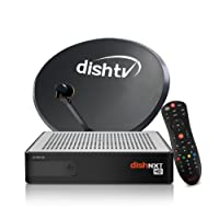 Dish TV HD With 1 Month Titanium Fullon HD Pack