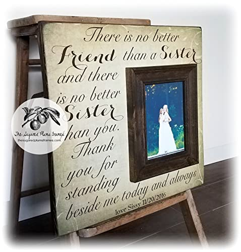 Amazon.com: Bridesmaid Gifts, Personalized Picture Frame, There Is ...