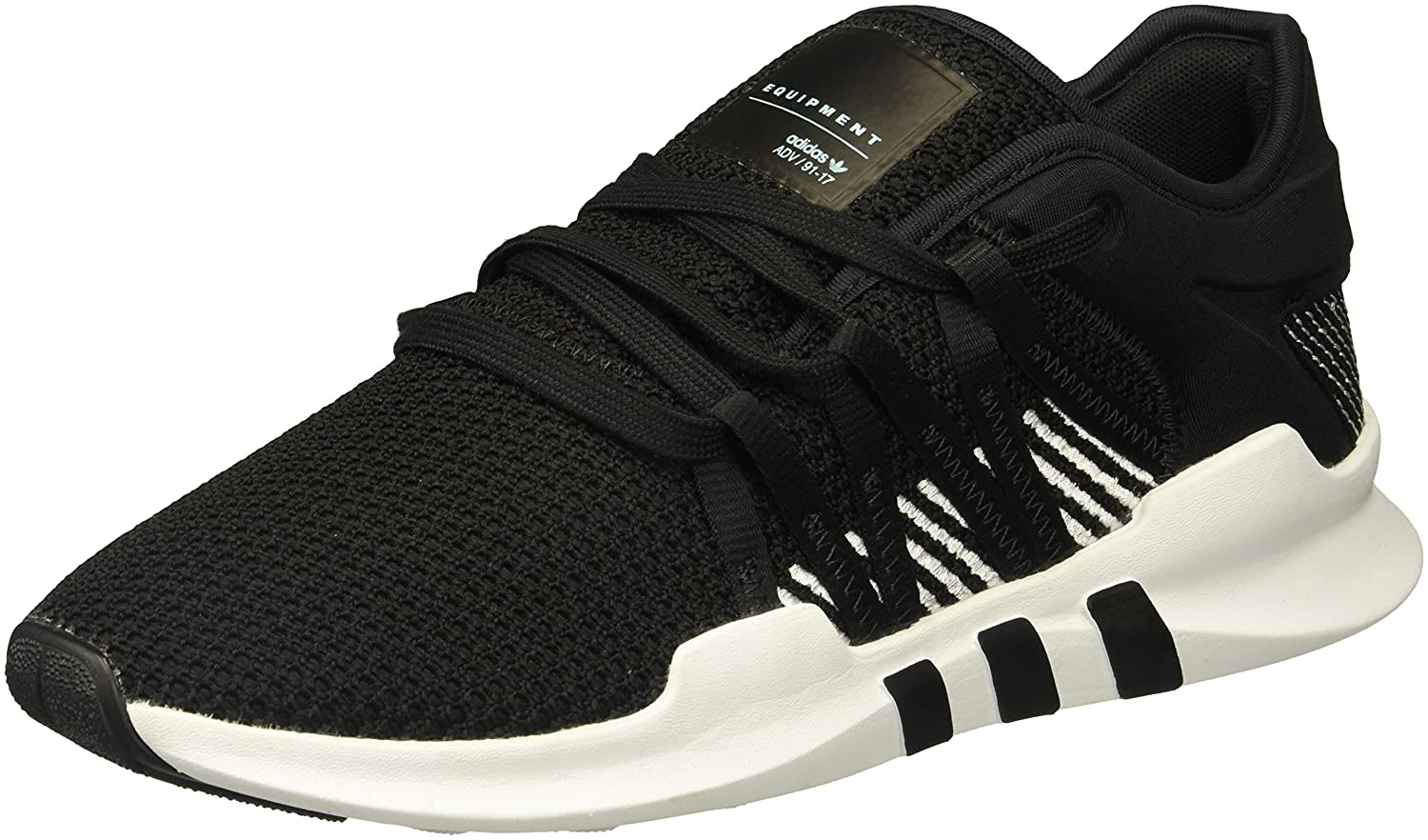 adidas Originals Women's EQT Racing Adv W Sneaker B01N7KFYS3 5 B(M) US|Black/Black/White