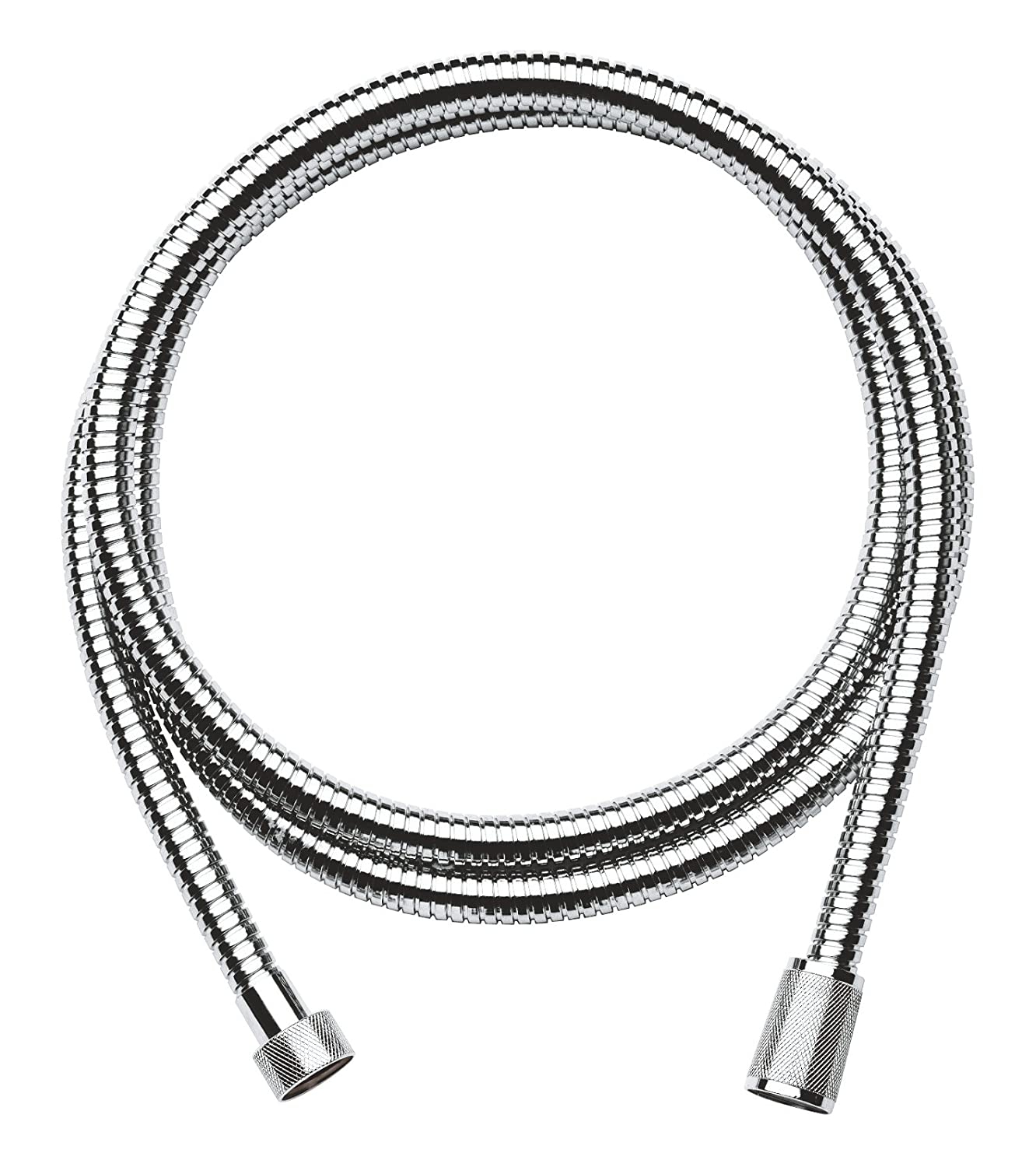 GROHE Relexa Ultra-Flexible Metal Hose, Silver, 28139000