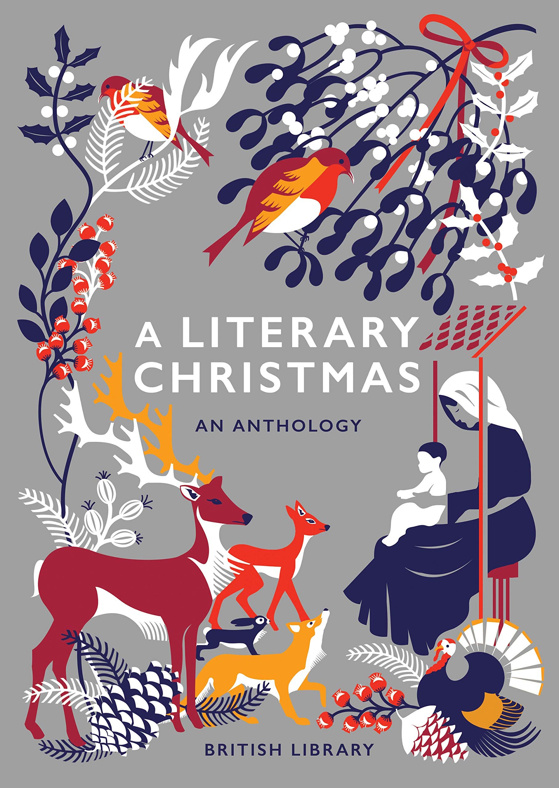 Christmas Illustration.A Literary Christmas Amazon Co Uk Various 9780712352765