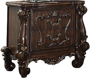 ACME Versailles Cherry Oak Nightstand