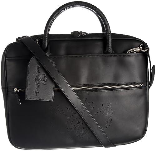 053c7f4b048 Penelope   Parker Women Carlito Laptop Bag Black Small  Amazon.co.uk ...