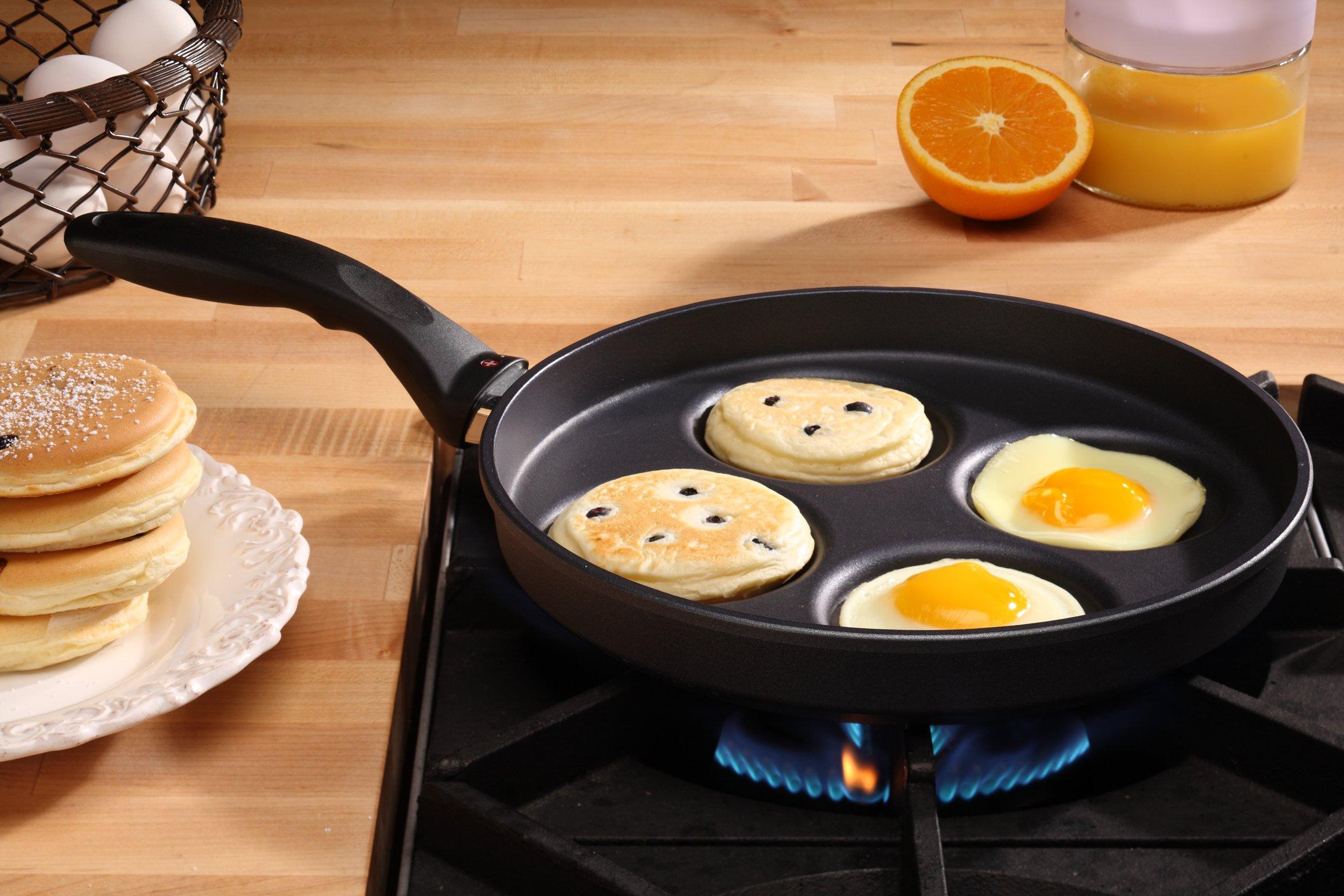 Swiss Diamond HD Classic Induction Plett Pan (Swedish Pancake Pan) by Swiss Diamond (Image #2)
