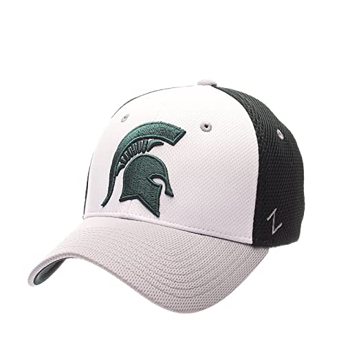 promo code a5853 6f282 Image Unavailable. Image not available for. Color  Zephyr Michigan State  Spartans Kickoff Stretch Fit Hat ...