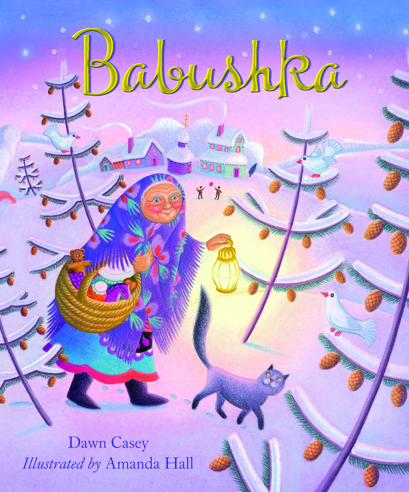 Amazon Babushka A Christmas Tale 9781680991888 Dawn Casey Amanda Hall Books