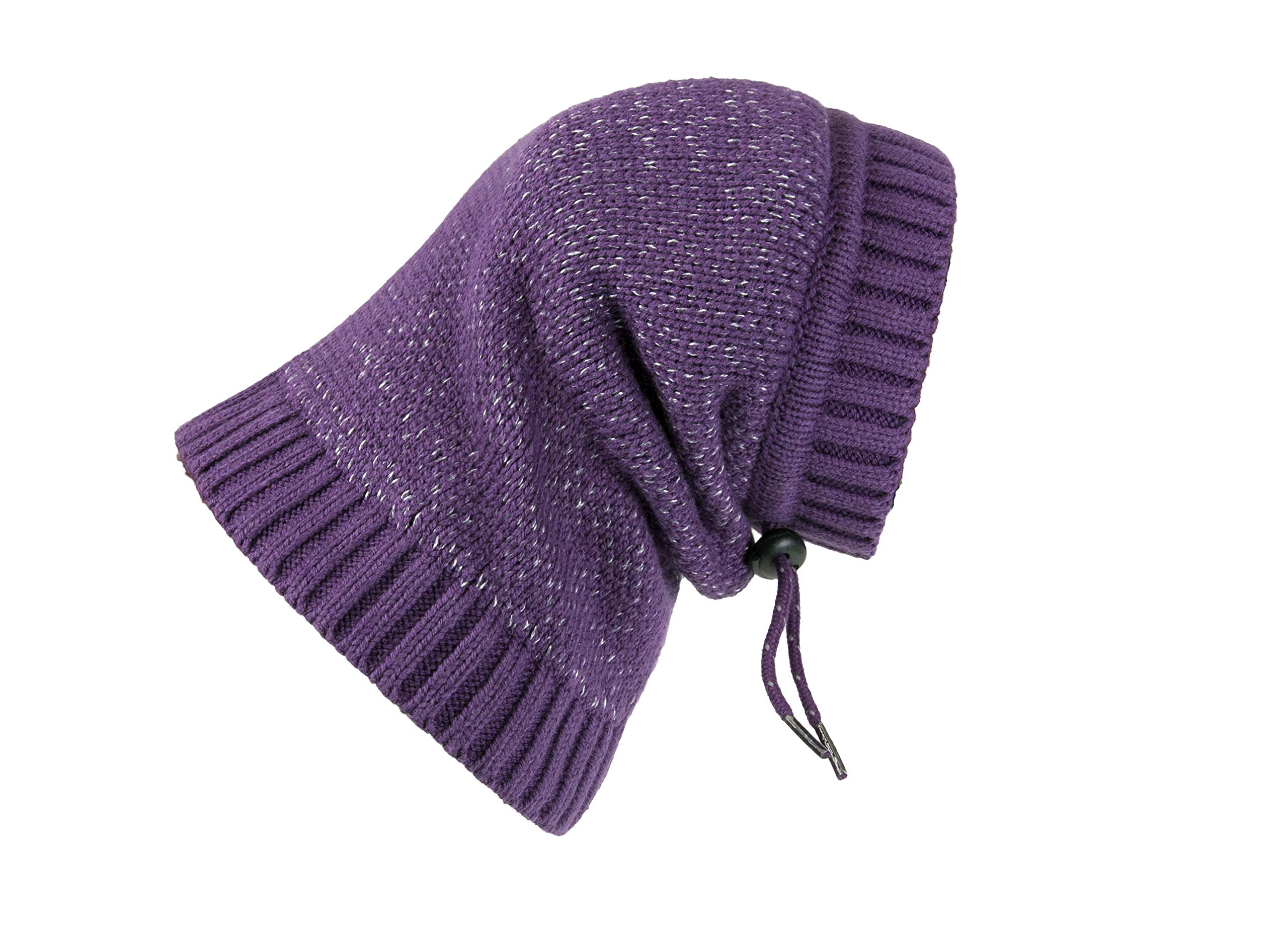RC Pet Products 67003010 Polaris Snood Dog Neck Warmer, Plum Purple, Small by RC Pet Products