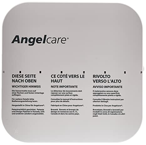 Angel Care Nivel y detector de movimiento ac701 de D, color blanco: Amazon.es: Bebé