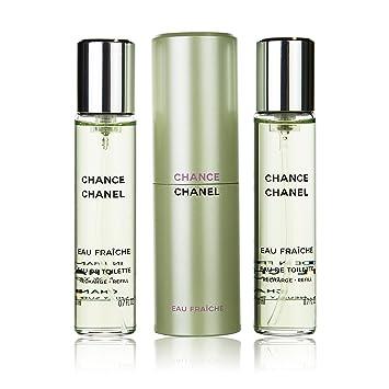 398f64c3d1aea6 Chance Eau Fraiche by Chanel Twist and Spray Refillable Eau de Toilette Purse  Spray 20ml &