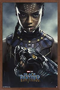 Trends International Marvel Cinematic Universe - Black Panther - Shuri One Sheet Wall Poster, 22.375