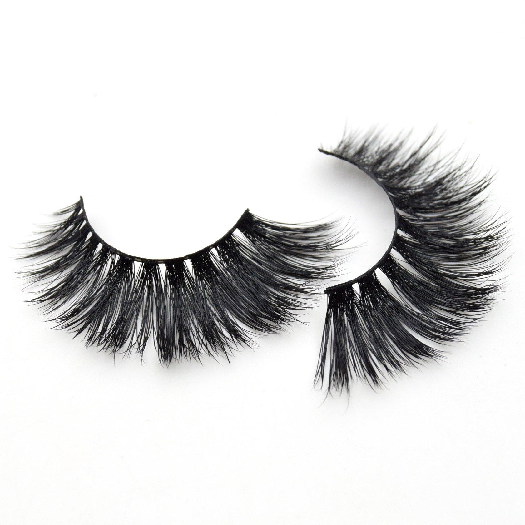 cb7d6fe5009 Amazon.com : Visofree Mink Eyelashes Handmade Eyelashes Extension High  Volume Lashes/False Eyelashes : Beauty