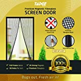 Magnets Door Close Automatically and Hands-Free ToastyH Mosquito-Proof Screen Door 36x83 Magnetic Screen Door Updated Version Super Reinforced Mesh Powerful Magnetics Perfect Seal