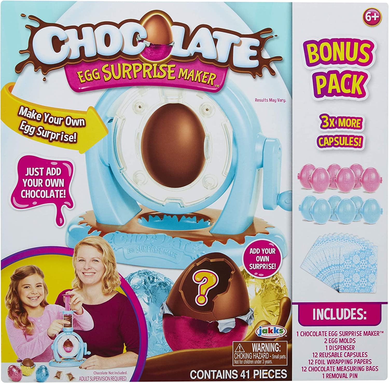 Jakks Pacific 61912 Huevo de Chocolate con Extra Bonus Pack, Multi