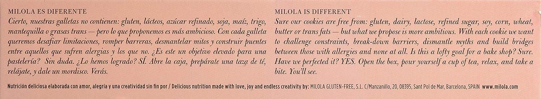 Milola, Galleta de Frambuesa, Lima y Avena - 3 de 140 gr. (Total 420 gr.): Amazon.es: Alimentación y bebidas