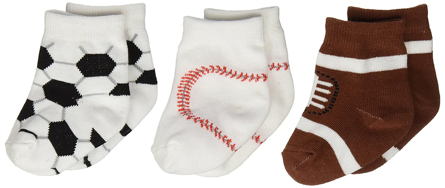 Amazon.com: Baby Aspen, Little All Star 3 Pair of Socks Gift Set, 0-6 Months: Baby