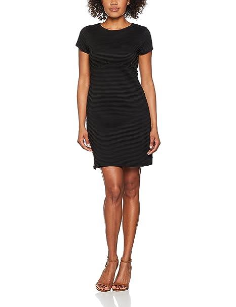 Trucco Punto, Vestido Casual para Mujer, Negro (Black), Large (Tamaño