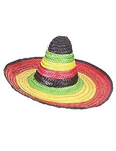 Vegaoo - Sombrero Mexicano Multicolor - Única
