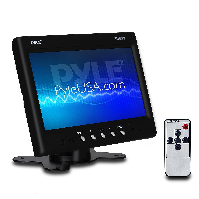 Pyle PLHR79 7-Inch Widescreen TFT Headrest Monitor Sound Around