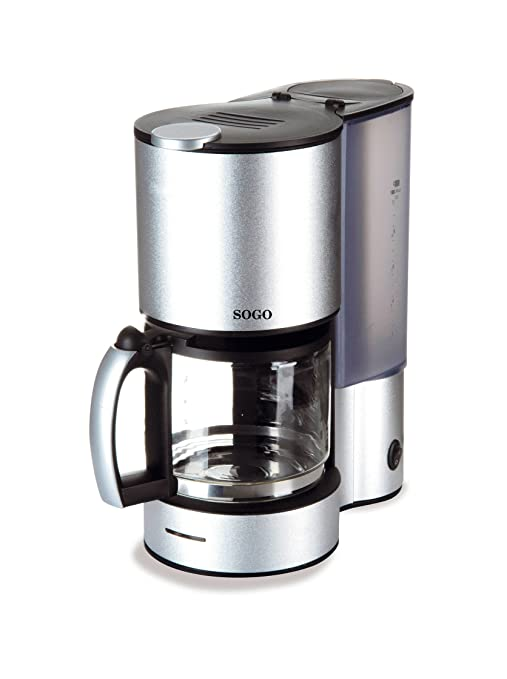 Sogo Cafetera goteo aluminio - Jarra 900W: Amazon.es: Hogar