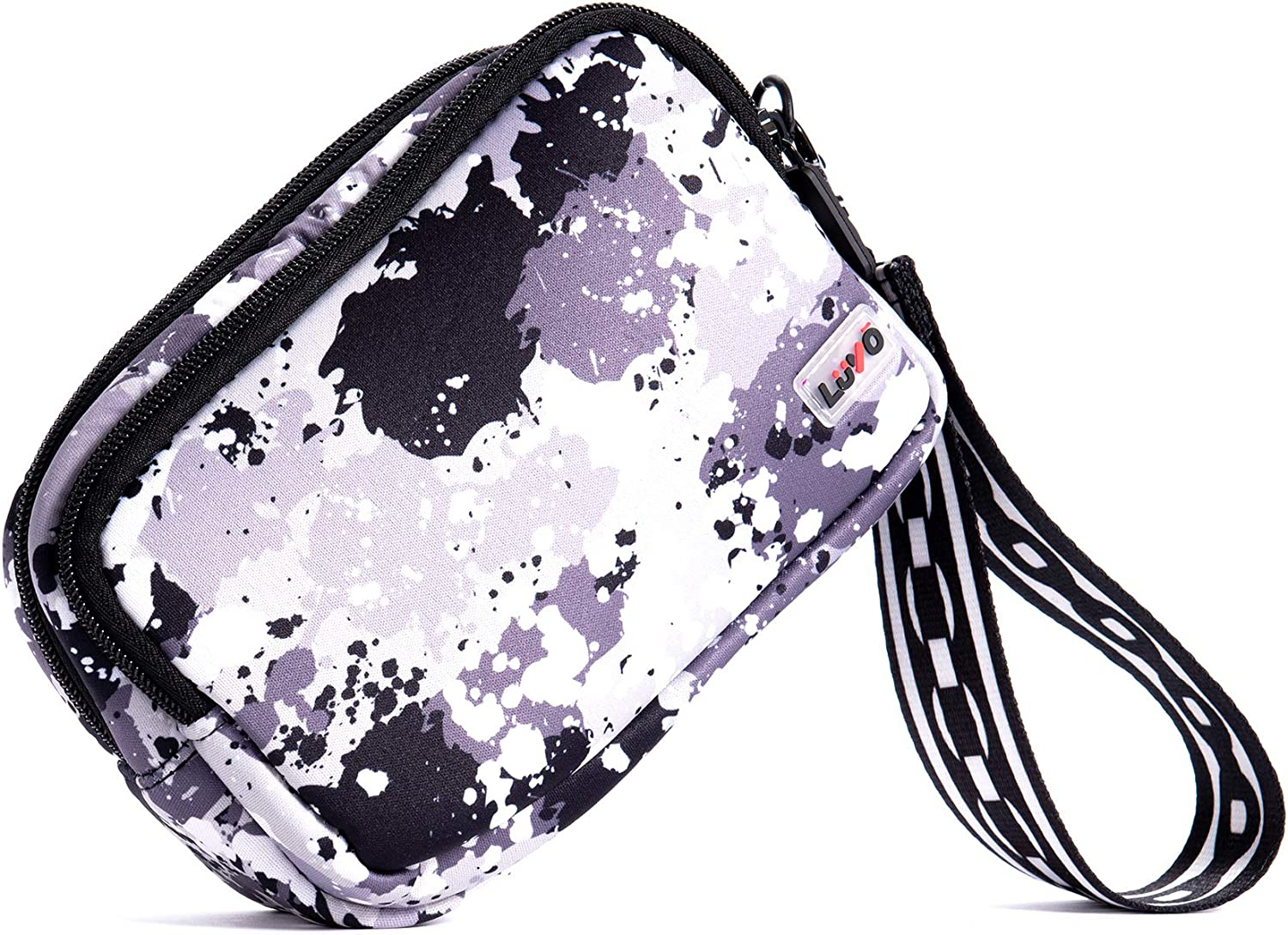 LuVo - Neoprene Mobile Wristlet Clutch Bags - Smartphone Holder Pouch