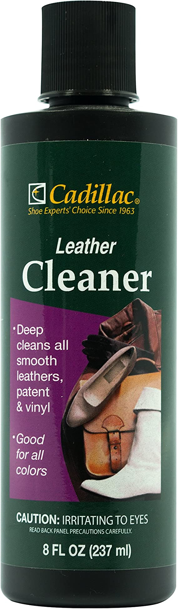 Cadillac Leather Cleaner - Great for Shoes