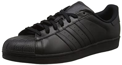 adidas Originals Superstar Foundation, Baskets Basses garçon, Noir Core  Black, 36 EU 5d87c2d32b90