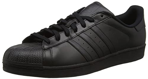 Adidas Superstar Scarpe da basketball, Unisex adulto, Nero (CblackCblackCblack), 37 13 amazon shoes Pelle