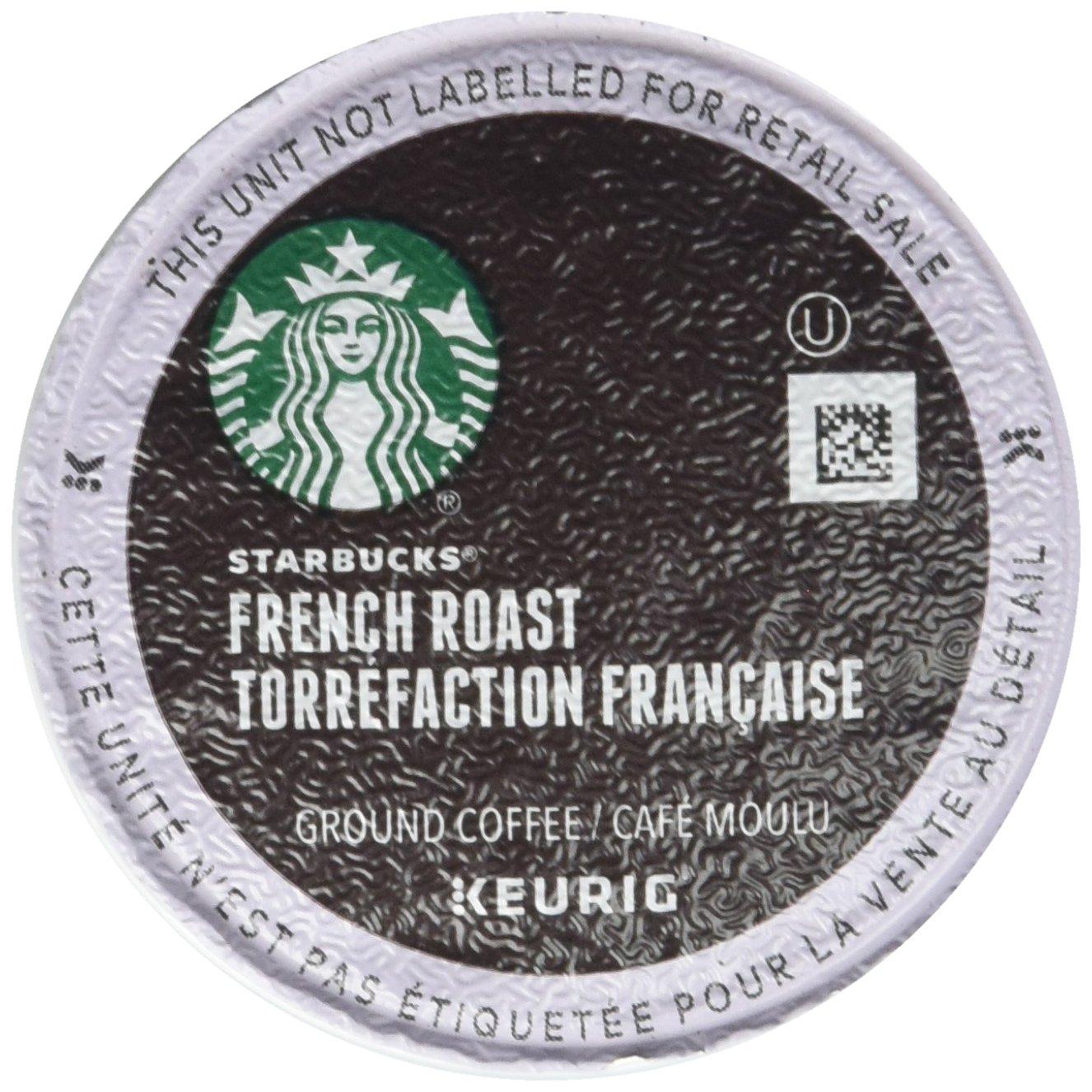 Starbucks French Roast Dark Coffee K-Cups