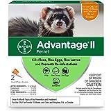 Advantage II Flea Prevention for Ferrets, Over 1 lb, 2 doses