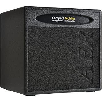 Air compacto funda para cpm-akku acústica guitarra Combo Amplificador Negro