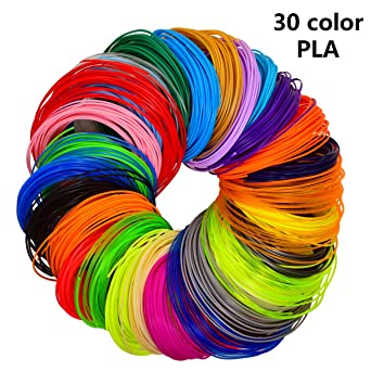 Lápiz 3d filamento 30 colores 1.75 mm 3d Ink printfi Lament, 3d ...