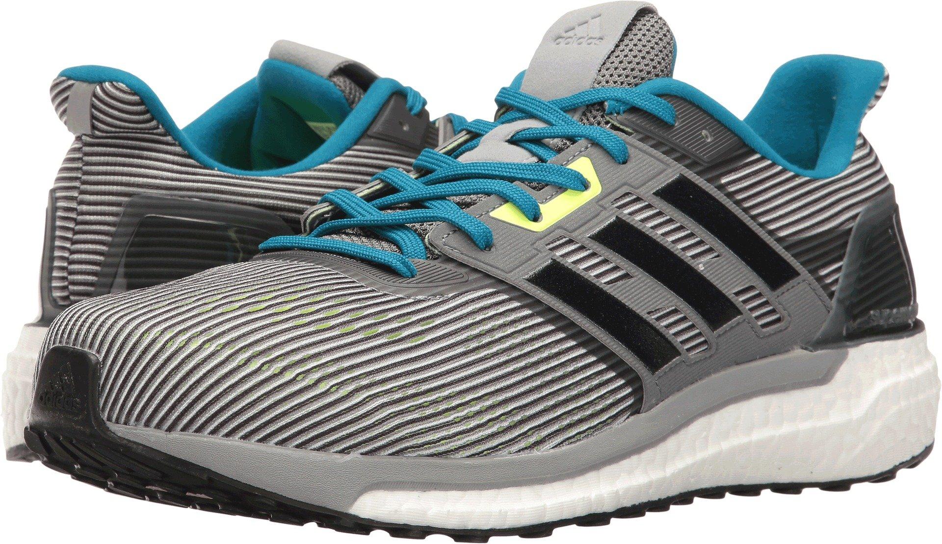 finest selection 7202d 5bb88 Galleon - Adidas Men s Supernova M Running Shoe, Vista Grey Black Unity Blue,  9 Medium US