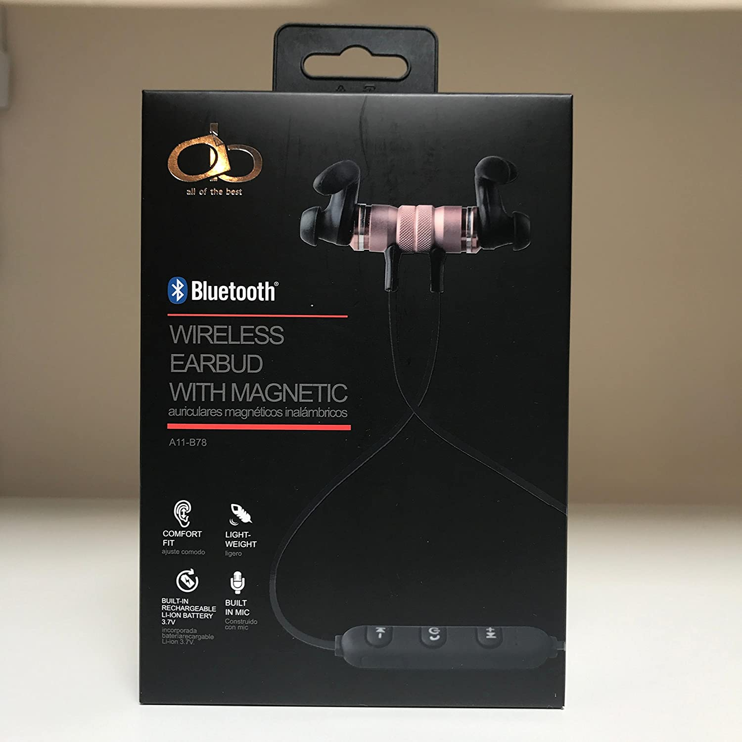 Amazon.com: all of the best - Wireless Earbud with Magnetic - Bluetooth: Electronics