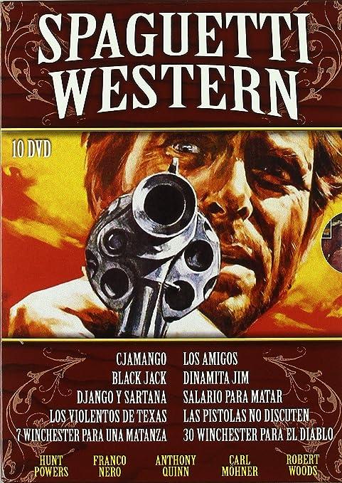 Pack: Spaguetti Western (Incluye 10 Películas) [DVD]: Amazon.es ...