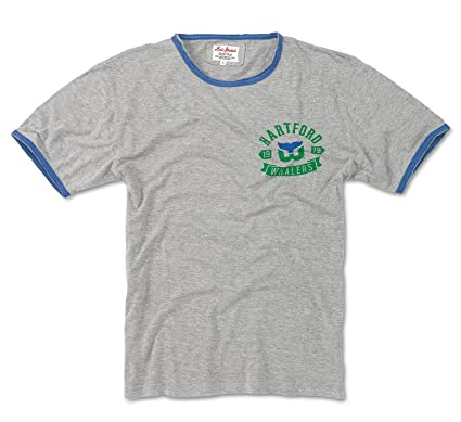1a919c1fe Image Unavailable. Image not available for. Color  Red Jacket Vintage  Hartford Whalers Portage T Shirt