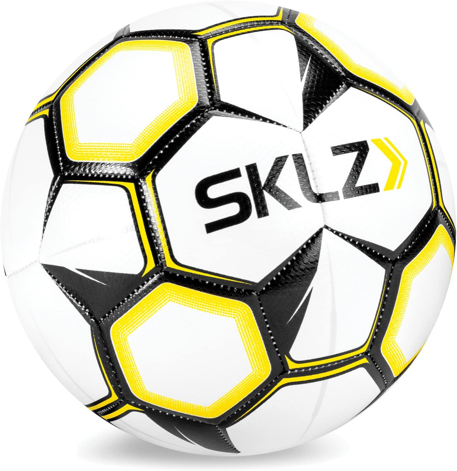 SKLZ - Balón de fútbol Unisex (Talla 5), Color Blanco: Amazon.es ...