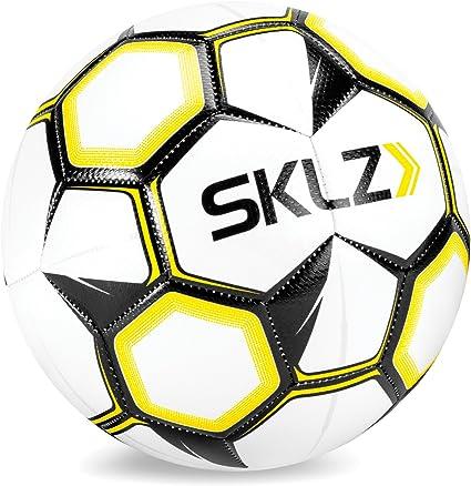 SKLZ - Balón de fútbol Unisex (Talla 5), Color Blanco: Amazon.es ...