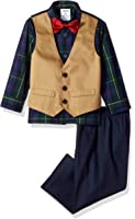 IZOD Boys' Seersucker Vest Set