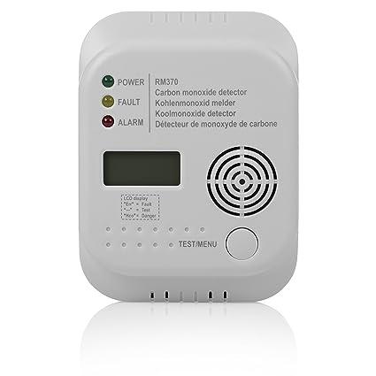 Smartwares RM370 Sensore Monossido di Carbonio, Bianco