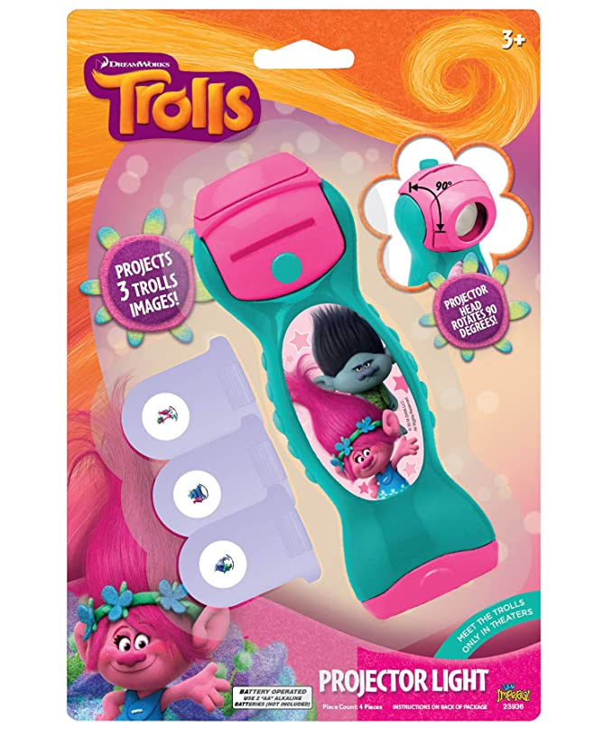 Imperial Toy, Corp. Trolls Projector Light Novelty