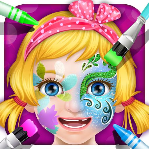 princess masquerade makeup - girls games -