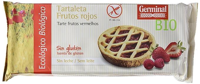 Germinal Tartaleta de Frutos Rojos Sin Gluten - Paquete de 8 ...