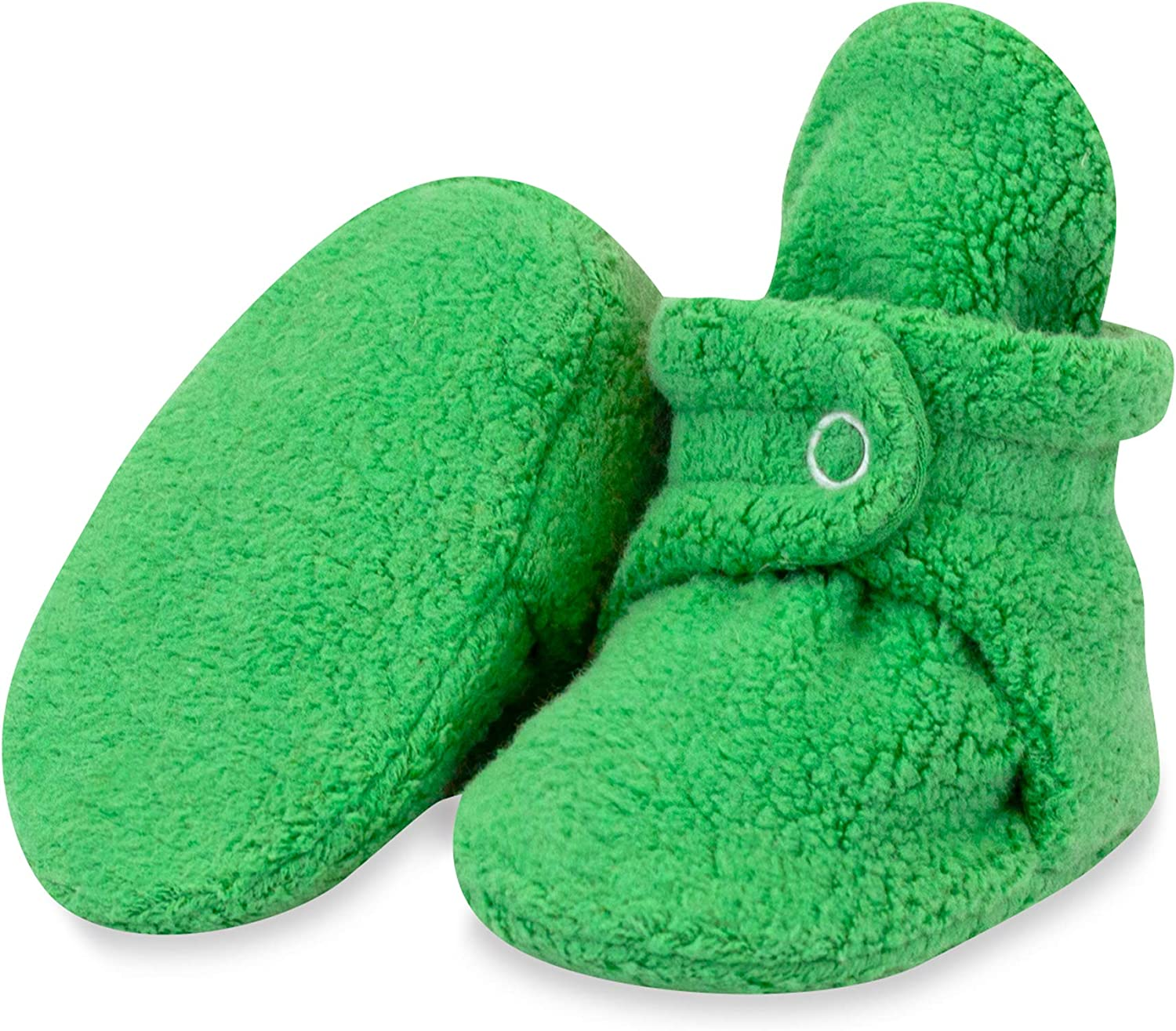 Zutano Cozie Fleece Baby Booties, Unisex, For Newborns and Infants: Clothing