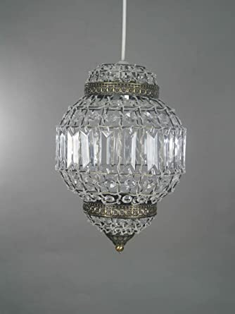 Moroccan Lantern 1 Light Pendant