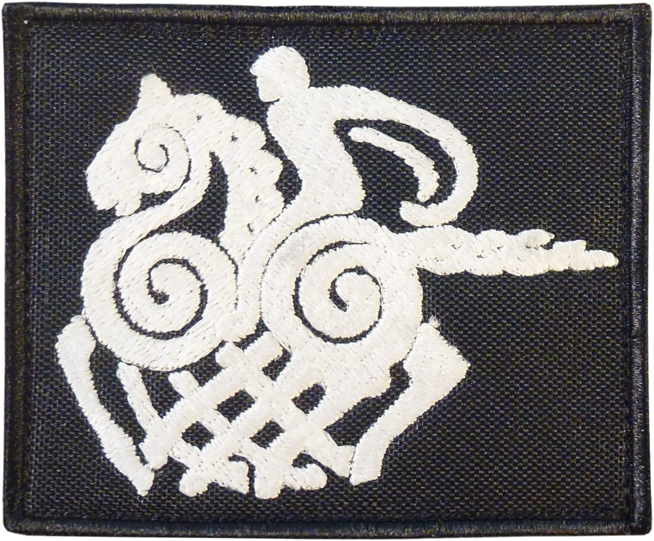 2AFTER1 Sleipnir Horse Odin God Norse Asgard Viking Valhalla Morale Tactical Embroidery Fastener Patch